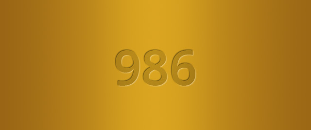 986 Gold